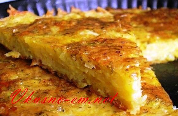 Запеканка из картофеля с чесноком и сыром - прекрасно подойдет для обеда или ужина. Подойдет для большой семьи. Минимум затрат и море удовольствия. Пробуйте!