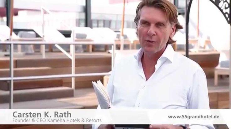 """""""55 Gründe ein Grand Hotel zu eröffnen"""" - Carsten K. Rath liest aus Kapitel 52 ...weil auch die Handwerker die Nacht durcharbeiten, wenn es sein muss. Weitere Videos und eine Leseprobe mit Gewinnspiel auf www.55grandhotel.de"""