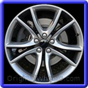 Dodge Charger 2015 Wheels & Rims Hollander #2545  #Dodge #Charger #DodgeCharger #2015 #Wheels #Rims #Stock #Factory #Original #OEM #OE #Steel #Alloy #Used