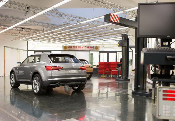 behind the scenes at the AUDI concept design studio - designboom   architecture