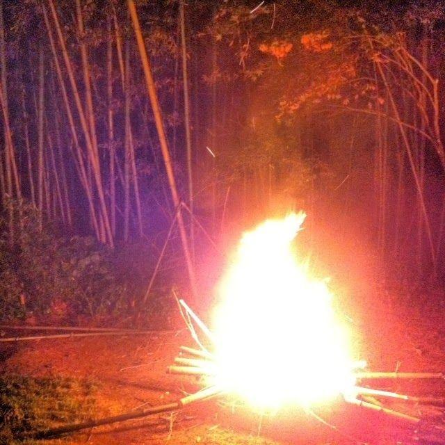 The Damyang House/bonfire