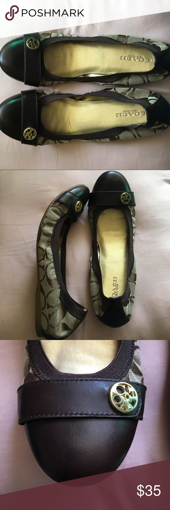 Coach Flats Coach flats. In great conditions. Used only twice. Coach Shoes Flats & Loafers