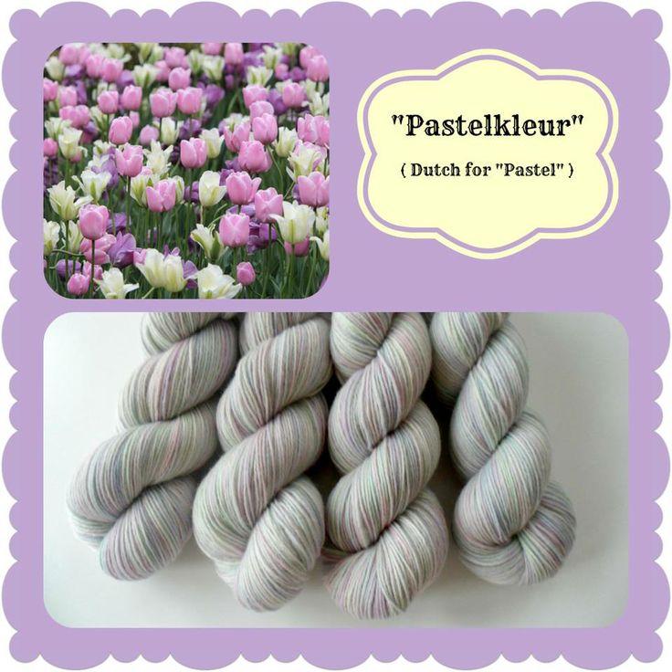 Pastelkleur - Dutch Flowers   Red Riding Hood Yarns