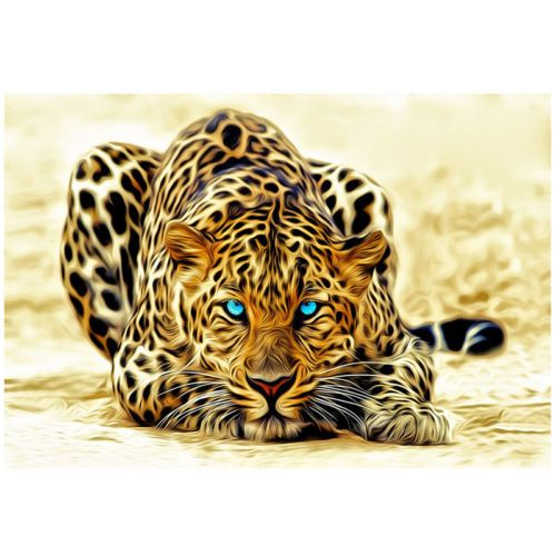 Details About Hd Canvas Print Home Decor Wall Adornment Picture The Cheetah 24x36inno Framed