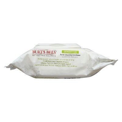 Burt's Bees Cotton Extract Sensitive Facial Cleansing Towelettes - 30 ct, Sensitive Cotton Extract