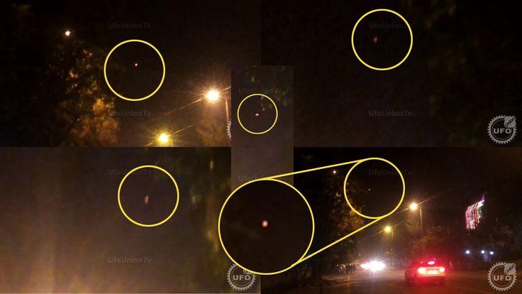Best UFO Sighting - November 2014 Delhi INDIA