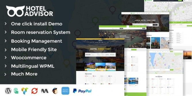 Download Hotel Advisor – Hotel Management and Booking WordPress Theme