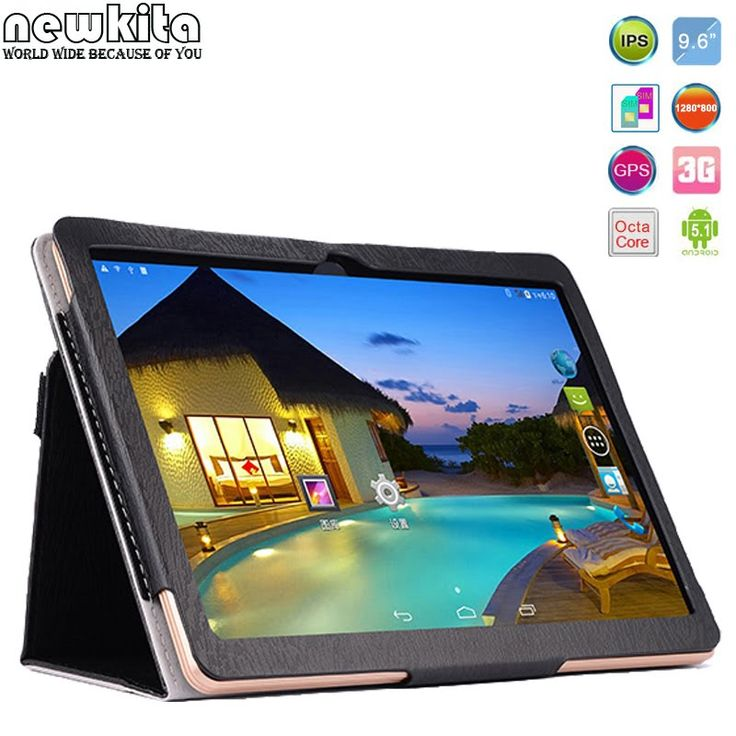 New Newkita 9 6 inch 3G 4G LTE Tablet Octa Core   Black Version   Test