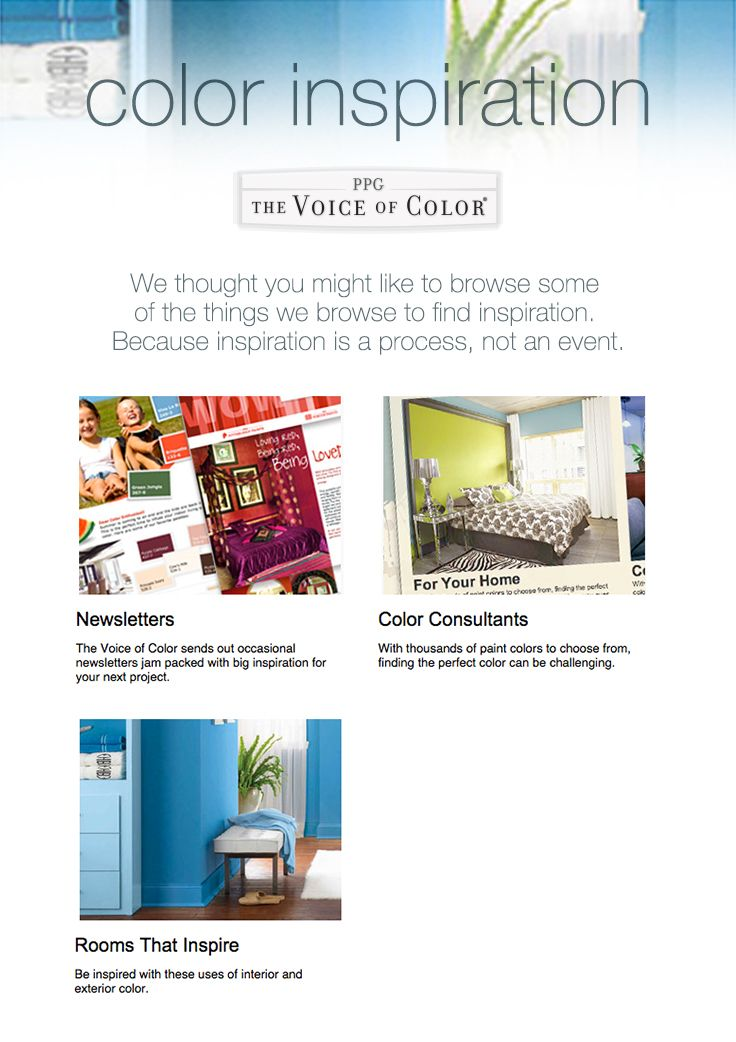 paint color inspiration and ideas from ppg voice of color choosing paint color painting tips advice learn tips for choosing paint color and find