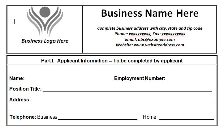employment letter template word