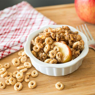Create a tasty apple crisp with an apple-crunch topping.  After one taste, you'll want to make it again and again.