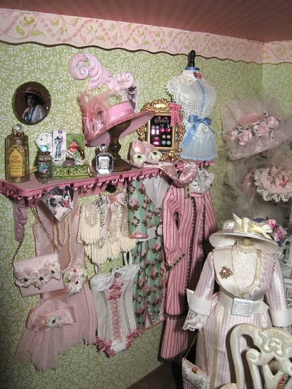 Pretty in Pink Dress Shop by Denise Morales