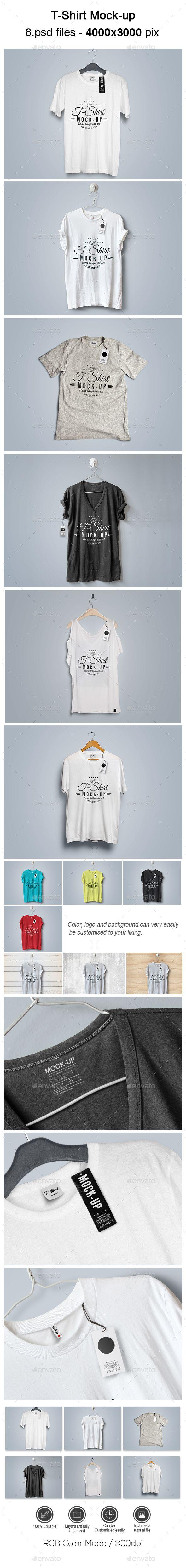 T-Shirt Mock-up #design Download: http://graphicriver.net/item/tshirt-mockup/13825761?ref=ksioks