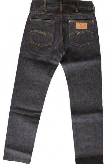 Studio D'Artisan D1650 12oz Broken Denim Jeans