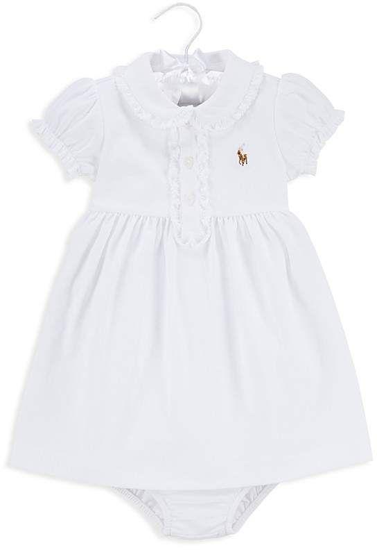 323bffd1 Ralph Lauren Girls' Ruffled Dress & Bloomer Set - Baby #ad   infant ...