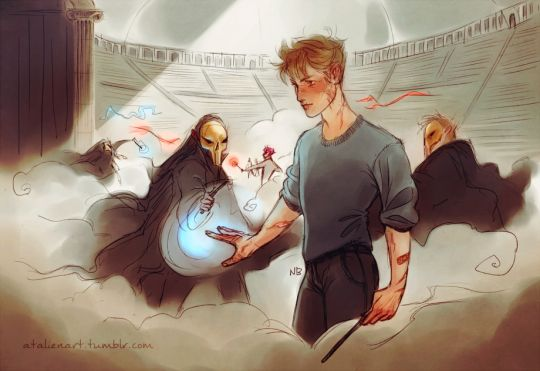 Remus Lupin - Department of Mysteries by Natello's Art