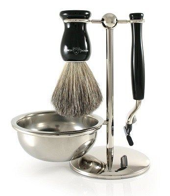 One of the best shaving kit with edwin jagger shaving brush, bowl and mach 3 razor