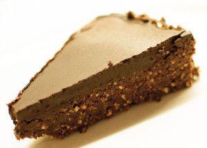 Rå brownies med mørk sjokolade - SunnDessert.no