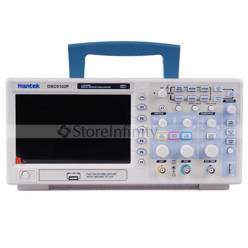 Hantek DSO5102P USB Digital Speicher Oszilloskop 2 Kanäle 100 MHz 1GSa/s Kostenloser versand