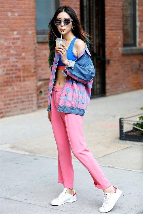NYFW Spring 2015 Street Style | KIM IRENE                                                                                                                                                                                 More
