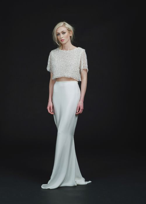 Sarah Seven Utopia Skirt & Delancy Top available at The Bridal Atelier || www.thebridalatelier.com.au