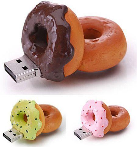 Donut Flash Drives