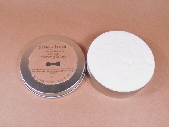 Mens shaving soap mens shaving cream shaving soap by soapylover