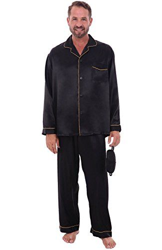 Del Rossa Men's Classic Satin Pajama Set - Long Pjs, Medi... https://www.amazon.com/dp/B00E1N94HW/ref=cm_sw_r_pi_dp_sHnyxb2GCQRGV