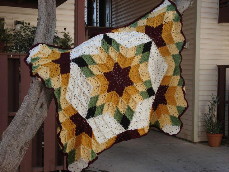 17 Beste Afbeeldingen Over Crochet Patchwork Quilt Afghans