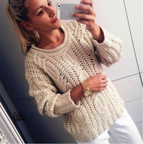 Мобильный LiveInternet Вязаный пуловер. Подборка схем | Fleure_de_Paris - Дневник Мармеладка |