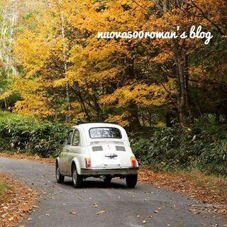 今日は山中湖に行く途中で雨に降られてトンボ帰り。箱根も雨だったけど湯本は賑わってました。いつも素通りだけど。 #箱根 #東京カメラ部 #写真好きな人と繋がりたい #photograph #autumn #autumnleaves #autumn🍁 #紅葉 #nature #山中湖 #雨 #rainyday #fiat #fiat500 #classiccars #classiccar