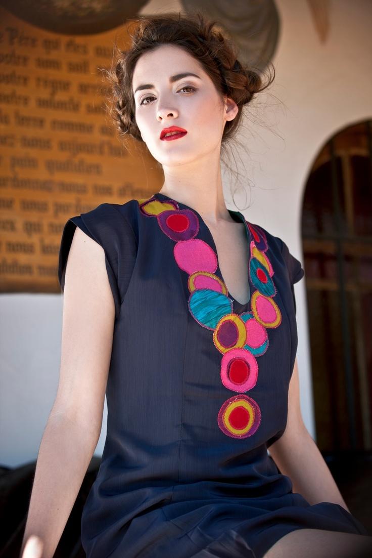 vestido de la ultima colección :Prudencia