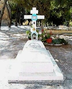 The grave of Mother Tamara,born Princess Tatiana Konstantinovna Romanova of…