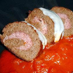 Sicilian Meat Roll Recipe - A change to plain meatloaf. Looks good.