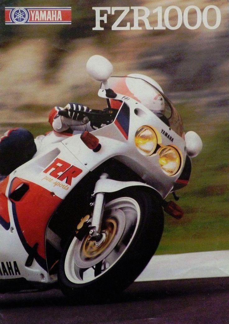 Yamaha FZR1000 (1988)   バイク. オートバイ. ヤマハ