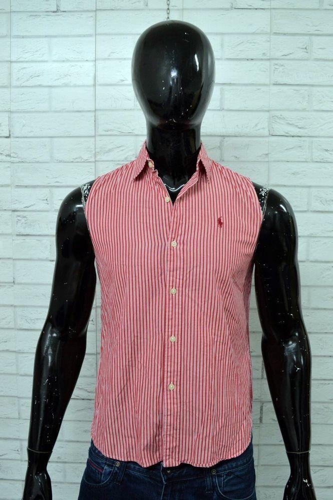 more photos 12555 5510d Camicia POLO SPORT RALPH LAUREN Uomo Taglia S/M Maglia Shirt ...
