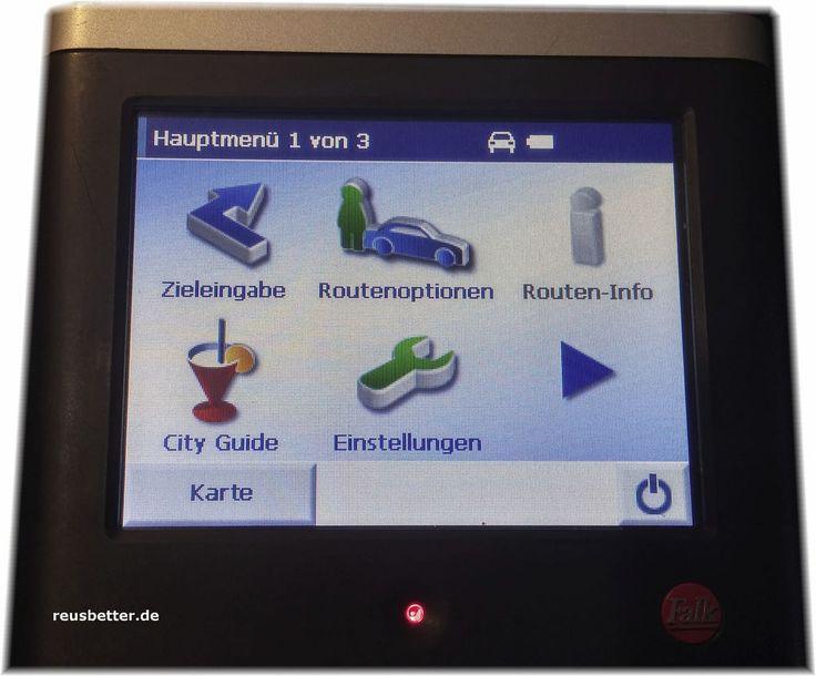 Falk C-Series Navi Navigationsgerät | Windows CE 5.0 | MP 3 Player City Guide