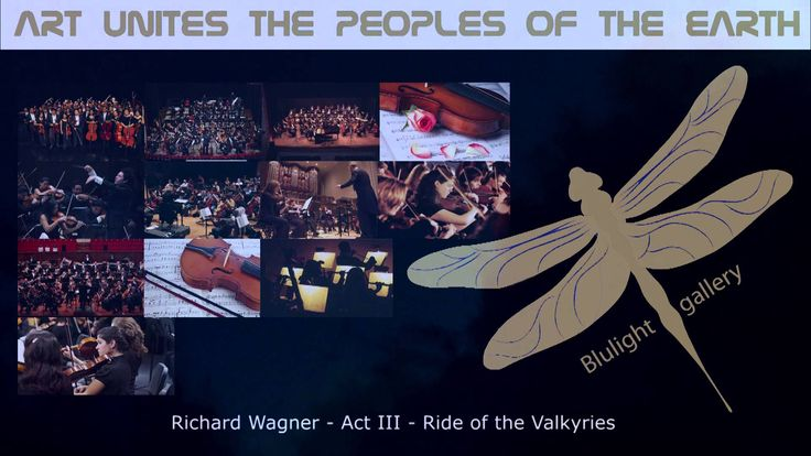 Ride of the Valkyries - Act III -  Richard Wagner