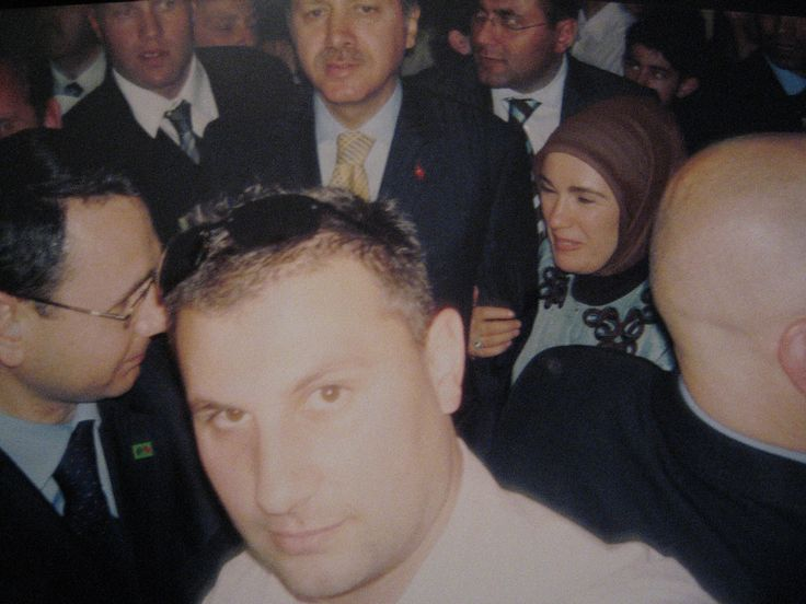 Turkish Prime Minister and his wife.  Crownland Security - 03 9306 4552 www.crownlandsecurity.com.au Security guards, Security guard services Melbourne, Crowd controllers, crowd controllers Melbourne, Event Security
