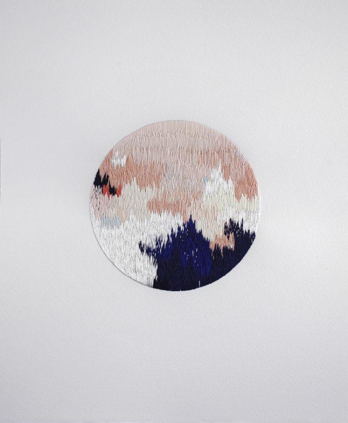 Izziyana Suhaimi – Embroidery & Drawing | purple woods