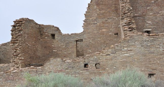 Pueblo Bonito at Chaco Culture Center | Top 5 Eco-Friendly Tourist Attractions in New Mexico www.greenglobaltravel.com