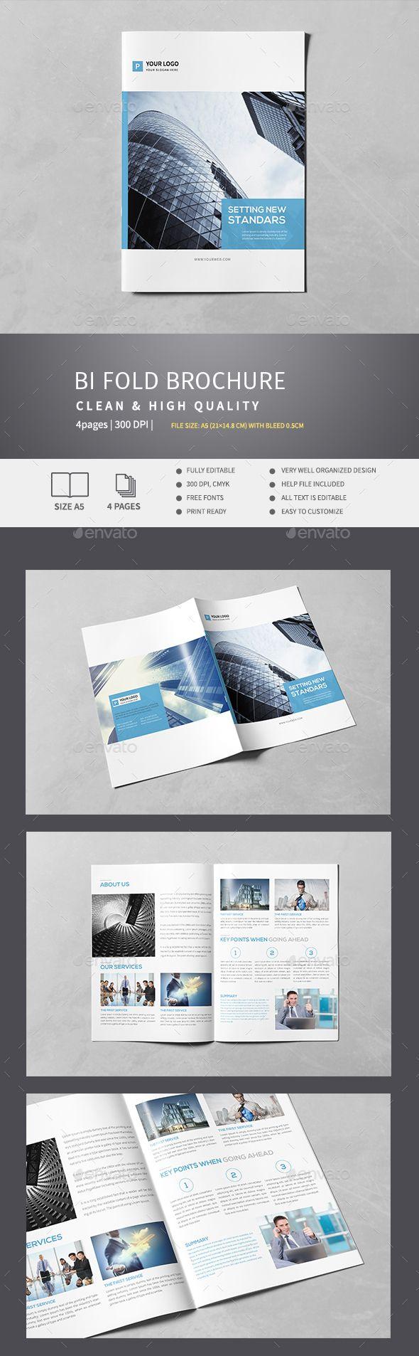 Corporate Bi-Fold Brochure v.3