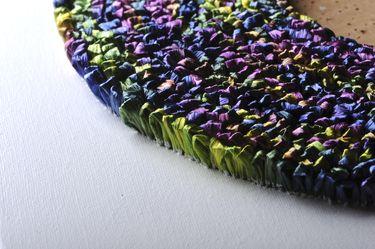 "Saatchi Art Artist Graziella Coi; Painting, ""12x12_Multicolor Flowers (Detail 5)"" #art"