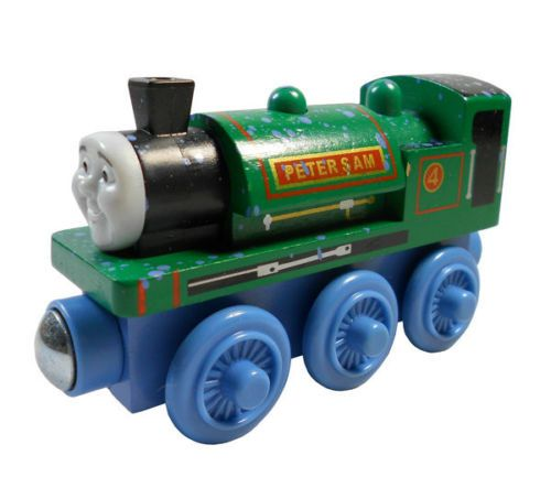 PETER SAM Thomas Friends The Tank Train Wooden Child Boy Toy Xmas HC400