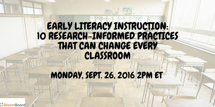 Today at 2 p.m. ET,  join the following guests for a webinar on early literacy instruction:Nell K. Duke, professor, literacy, language, and culture, University of MichiganNaomi Norman, assistant superintendent, achievement & student services, Washtenaw Intermediate School District, Mich.Susan Townsend, director of instruction and learning services, Jackson County Intermediate School District, Mich. Monday, Sept. 26, 2016 2 to 3 p.m. ET