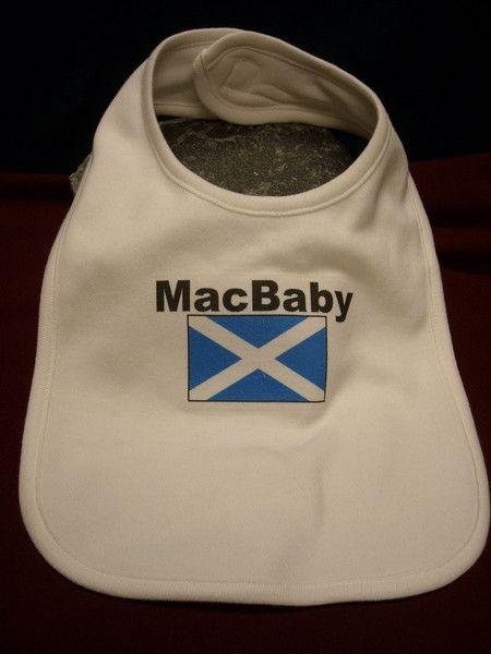 MacBaby Bib, $12.95