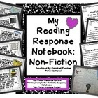 This is currently offered in my Reading Response Notebook-Getting Started!  This Non-Fiction section provides resources on non-fiction literature s...