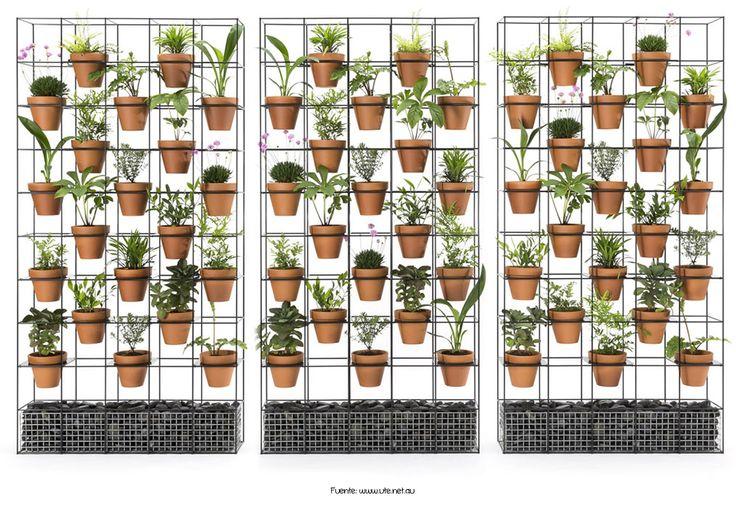 Para los amantes de las plantas, una estructura para poner macetas.