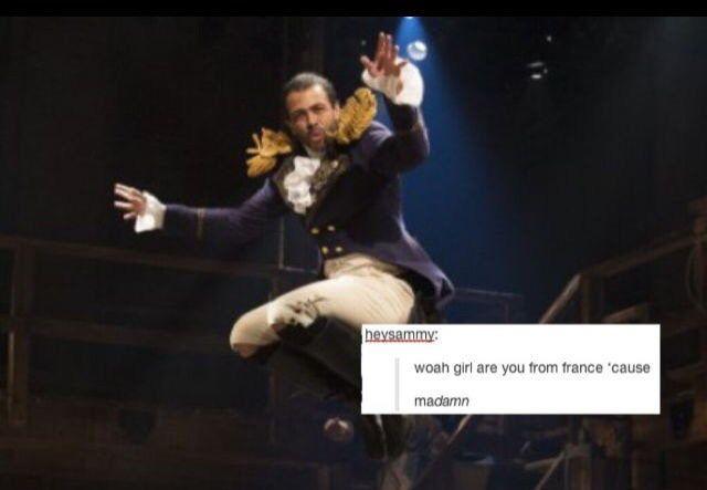 ;) Hamilton musical