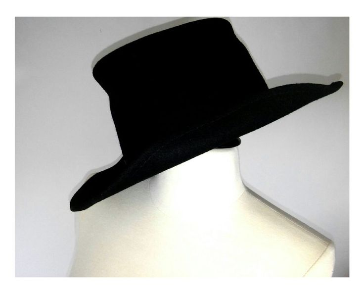 WESTERN HAT ACE HY SALES MADE IN U.S.A. 7 1/2 WOOL Black Fedora | Clothing, Shoes & Accessories, Men's Accessories, Hats | eBay!